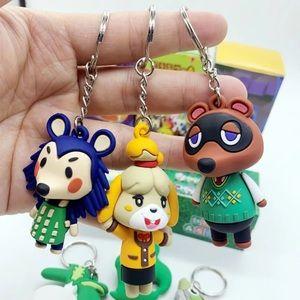 Set of 3 animal crossing key chain